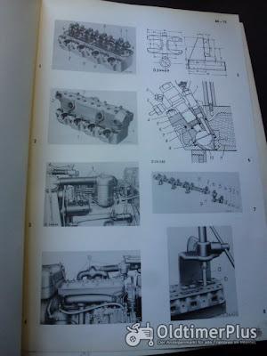 Werkstatt Handbuch Nr. 7132 für John Deere Lanz Dieselschlepper Foto 4