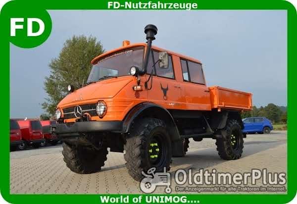 Mercedes Unimog 416 Doka, Doppelkabine, Rarität Foto 1