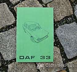 Literatur Betriebsanleitung DAF 33 1969 Dafodil