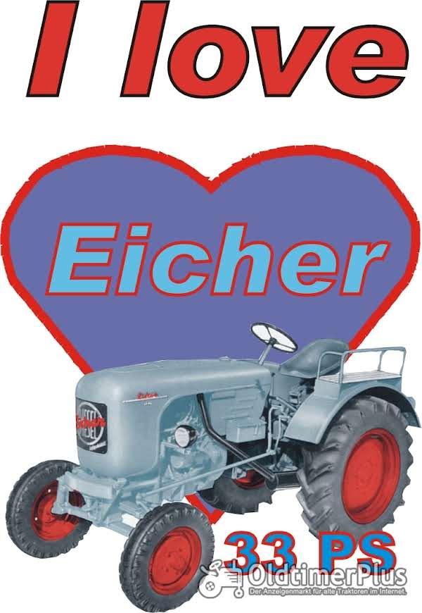 I love Eicher 33 PS T-Shirt Foto 1