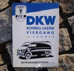 Betriebsanleitung Barkas Framo V901 /2 Kleinlieferwagen 1960 Foto 5