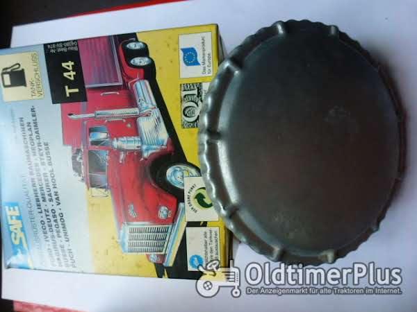 Safe T 44(Fa.Blau) Tankverschluss nicht abschließbar Foto 1