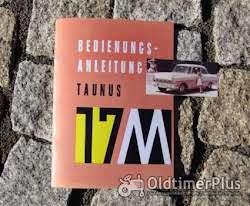 Literatur Betriebsanleitung Ford Taunus 17M (P2) 1960