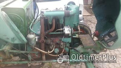 Kramer Traktor KL 300 mit 2 Zylinder Luftgekühlten Deutz Dieselmotor photo 4