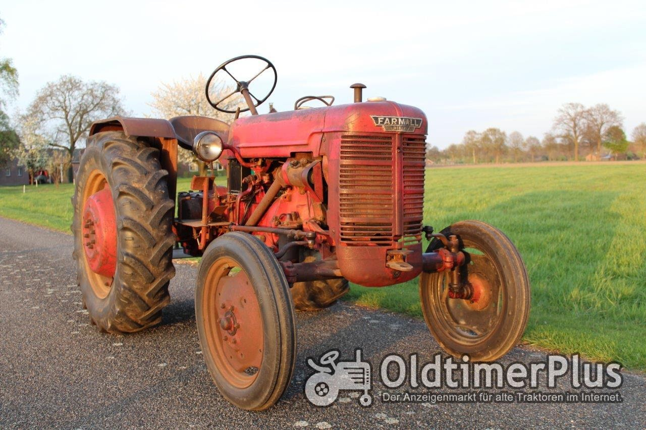 Farmall IHC Mc Cormick Farmall DED3