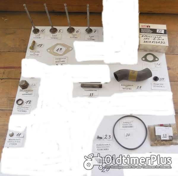 IHC Ersatzteile, Schlepperteile, Motorenteile, Sortiment A Foto 1
