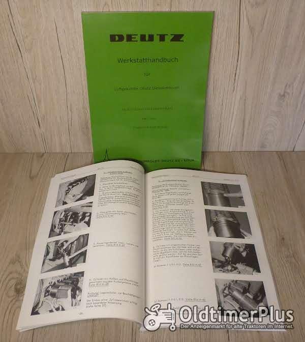 Werkstatthandbuch Deutz Dieselmotor FL812 FL 812 Foto 1