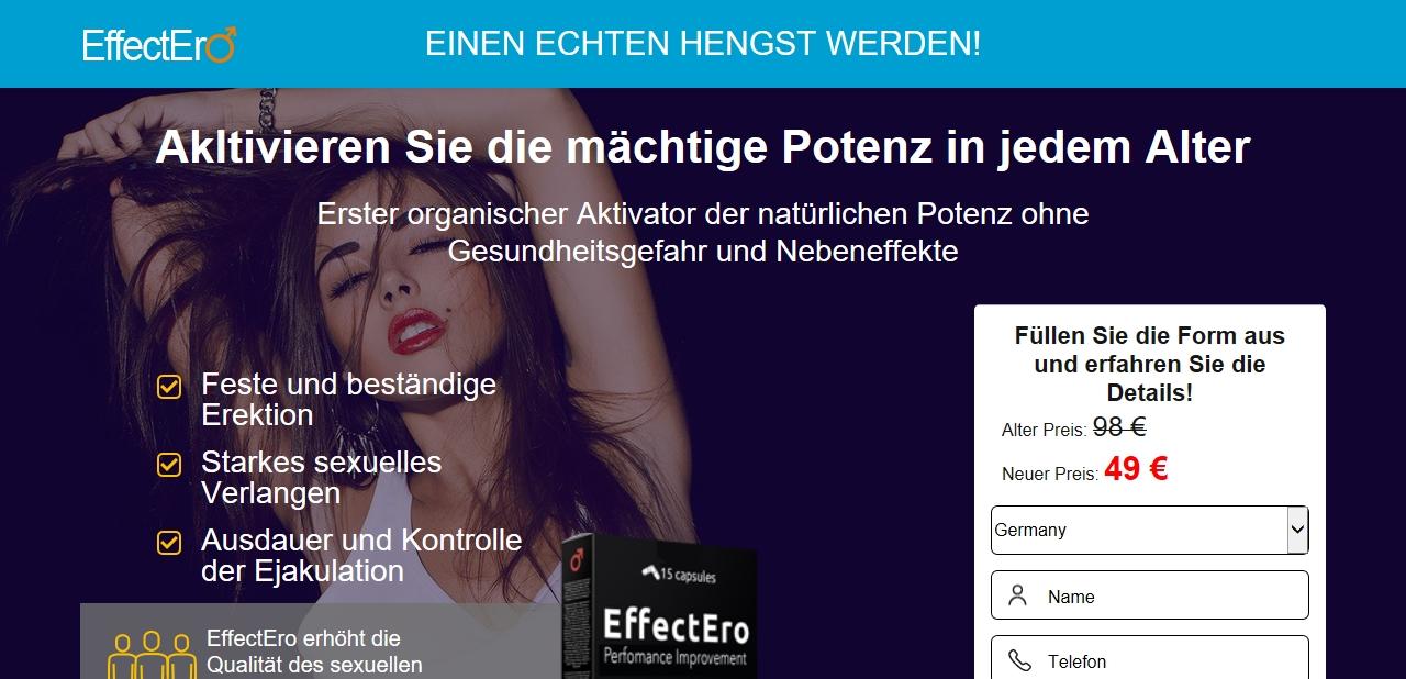 Wo kann man EffectEro (15 capsules) kaufen?