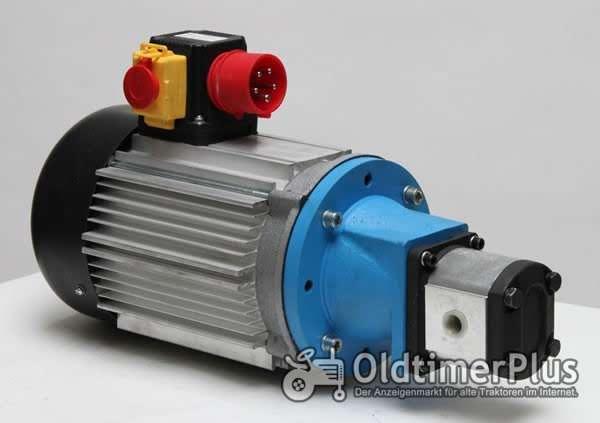 Universal 400 Volt Elektrische Hydraulikpumpe 5,5 KW Foto 1