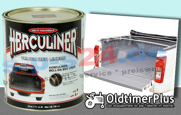 Universal Herculiner Beschichtung Anhänger Oldtimer, Traktoren grau 3,69 Liter | Einzeldose Foto 1