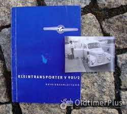 Literatur Betriebsanleitung Barkas Framo V 901 /2 1960