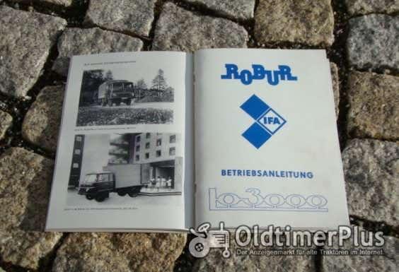 Betriebsanleitung Robur Lo 3000 1981 Foto 1