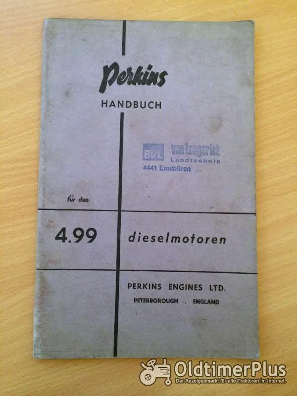 Perkins 4.99 Dieselmotoren Handbuch Foto 1