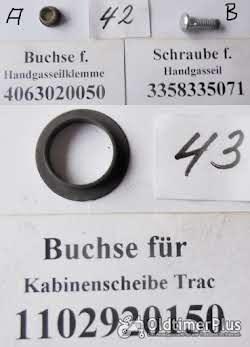 Mercedes MB Trac, MB-Trac, Unimog, Ersatzteile Sortiment B Foto 6
