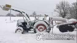 Deutz D4005 Frontlader Kat. 2 hydraulische Lenkung, viele Neuteile Foto 12