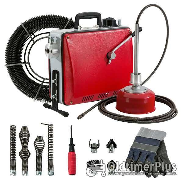 Rohrreinigungsmaschine 390 Watt+Zubehör Neuware OVP Foto 1