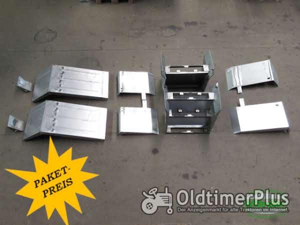 MB Trac 1100 1300 1500 Kotflügelsatz (3-stufig) Foto 1