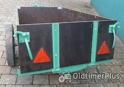Anhänger Traktor Kleintraktor restauriert Foto 4