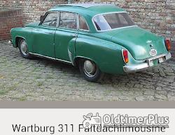 Wartburg 311 mit Faltdach Foto 6