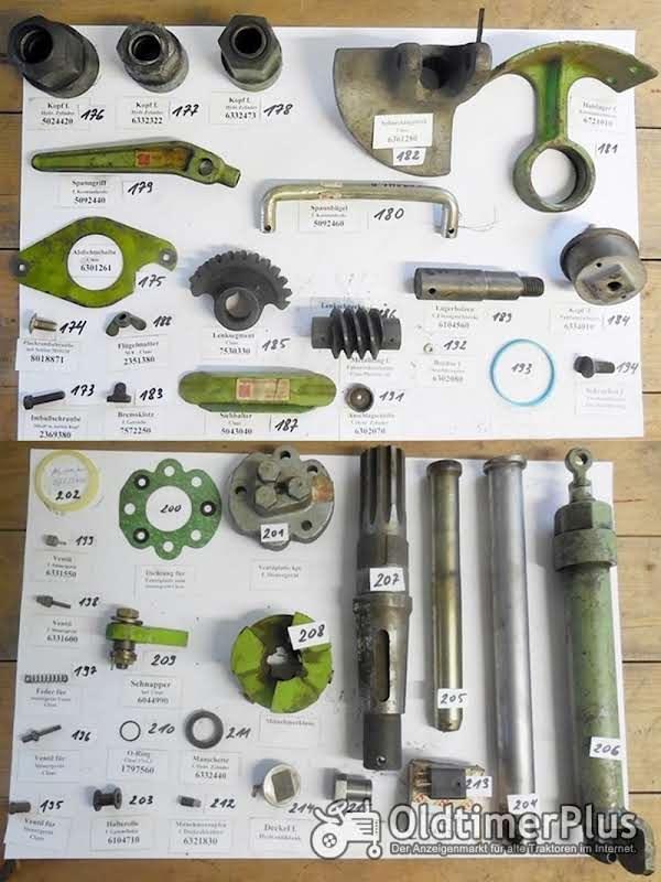 Claas Mähdrescher, Presse, Perkins Motor, Ersatzteile, Sortiment C Foto 1