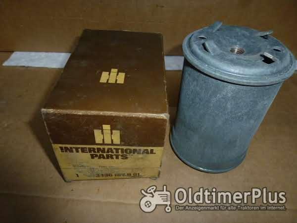 IH Case Kraftstofffilter Foto 1