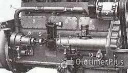 Knorr Kompressor für Hanomag D 85 Motor Knorr Kompressor für Hanomag D 85 Motor