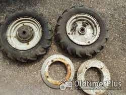 Gutbrod Terra Kompletträder für Einachsschlepper oder andere passende Steckachsen