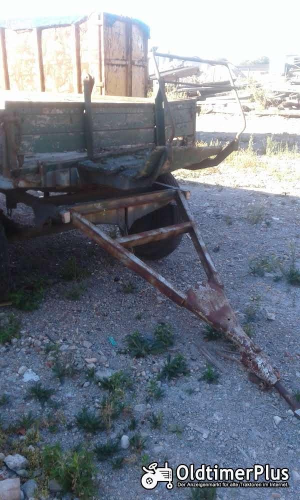 Gummiwagen,Ladewagen,Traktoranhänger Foto 1