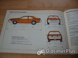 orig. Betriebsanleitung Renault Fuego Coupé 1981 Foto 2