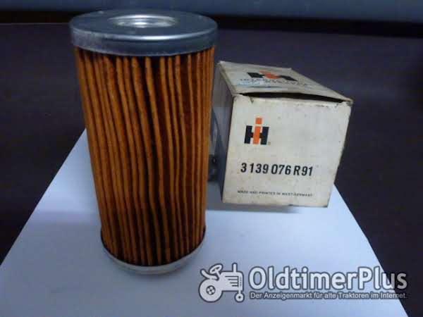 CASE IH Hydraulikölfilter Nr. 3139076R91 Foto 1
