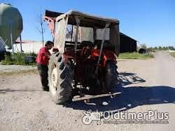 IHC D 436 mit Frontlader Foto 4