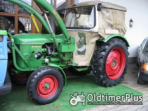 Deutz D 4005 mit Frontlader sehr guter Zustand Foto 1