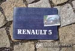 Betriebsanleitung Renault R5 TR GTR GTX Turbo Baccara 1985 Foto 7