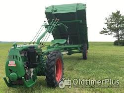 AGRIA Hatz Agria 2800 Hatz 12 PS mit Völker Triebachs-3Seit-Kipper-Anhänger Foto 10