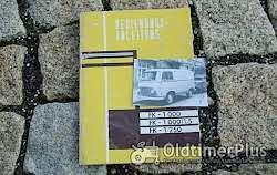 Betriebsanleitung Barkas Framo V901 /2 Kleinlieferwagen 1960 Foto 7