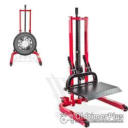 Hydraulik Reifen Montagehilfe höhenverstellbar | max 800 kg Foto 5