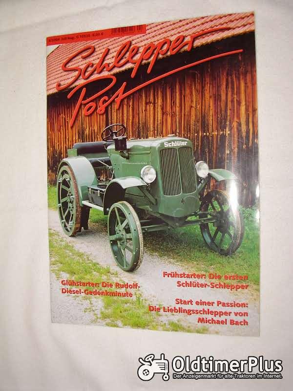 Schlepperpost Zeitschrift von 2001 bis 2014 Foto 1