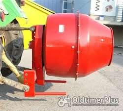 Betonmischer Futtermischer für Traktor Ø 45 cm Dreipunkt Aufhängung KAT 1 Foto 2