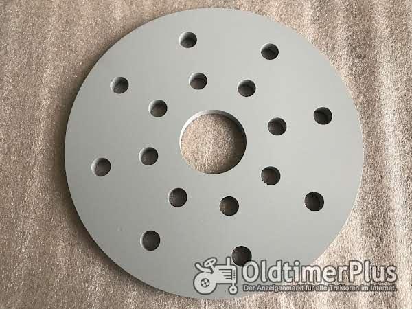 Hanomag Adapterplatten für Größere Bereifung/Umbereifung Adapterplatte Foto 1