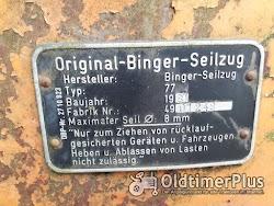 Binger Seilzug Seilwinde Foto 2