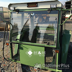 MM Universalkabine Traktorkabine Nr. 17b F106-108 für Traktor bis ca. 90PS Foto 9