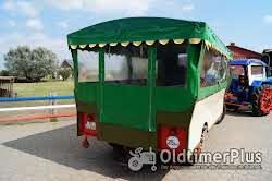 Eisenwerk Grümer Planwagen - Anhänger – Einzelstück – Typ DB 8000 – DB 80 Foto 4