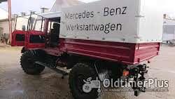 Mercedes Unimog 416 Doppelkabiner Foto 4