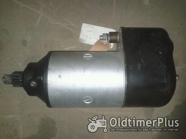 Bosch Anlasser BNG4/12cr225 für Hanomag Granit Robust Brillant Foto 1