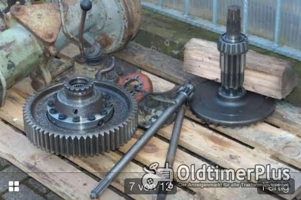 Deutz 5006 Deutz 5006 getriebe zahnräder achstrichter bremsen hydraulikblock alle 06 5206 4006 Foto 1