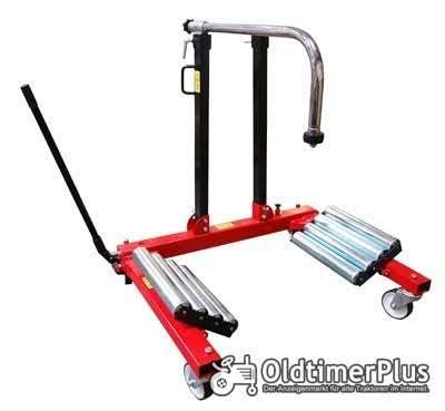 Rad Montagehilfe | Raddruchmesser max 2 meter Pkw, Lkw, Traktor NEU Foto 1