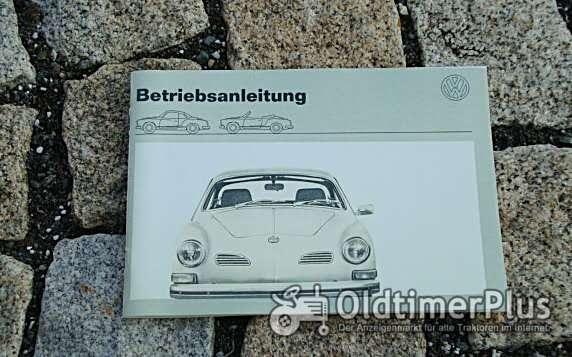 Betriebsanleitung VW 1600 Karmann Ghia 1972 Foto 1