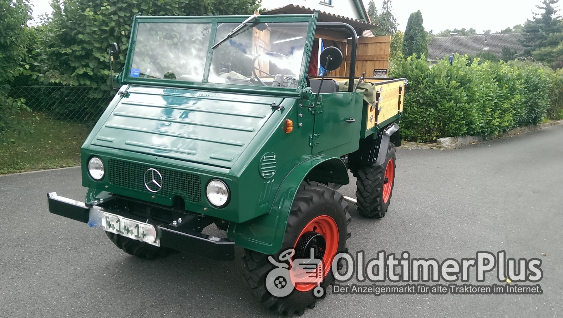 mercedes unimog 411 in 96155 buttenheim germany for sale oldtimerplus. Black Bedroom Furniture Sets. Home Design Ideas