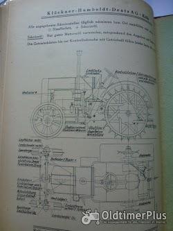 Deutz Bed.Anleitung u.Einzelteilverzeichnis für den D7824 50 PS Diesel Stahl Schlepper Foto 6