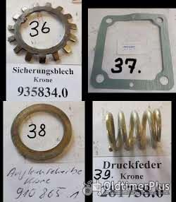 Mengele. Krone, Claas Ladewagen, Mähwerk, Scheibenmäherk, Kreiselschwader, Heumaschinen, Ersatzteile Foto 8